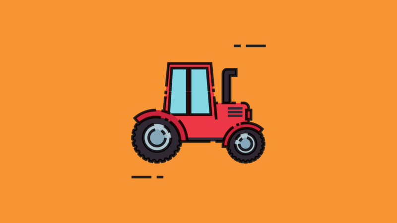 image showing Tractor Illustration