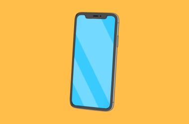 image showing smartphone illustration